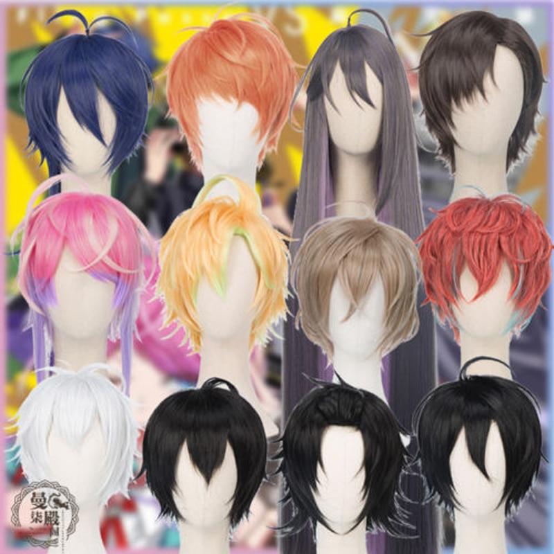 Division Rap Battle Hypnosis MIC Doppo KannonzaKa Dice Arisugawa Jiro Yamada Ichiro Saburo Gentarou Yumeno Jakurai Cosplay Wig