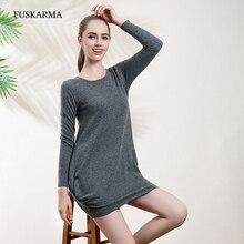 Women Sweater Dresses 2016 Autumn Winter O-neck Cashmere Pullover Dress Women Long Sleeve Sweater Dress Warm Plus Size Clothing