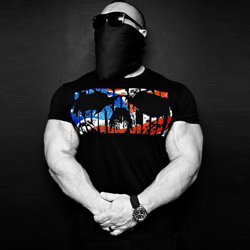 Mens Summer Bodybuilding cotton Short sleeve   t     shirt   2018 New Gyms Fitness male Casual Fashion Printed Tight tees tops clothing