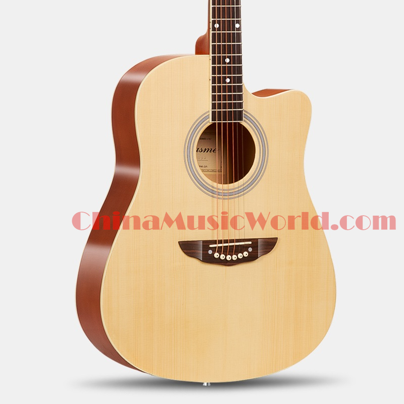 41 inch Spruce Top / Basswood body & sides / AFANTI Acoustic Guitar (ACM-257) afanti music acoustic guitar repair tools gtl 109