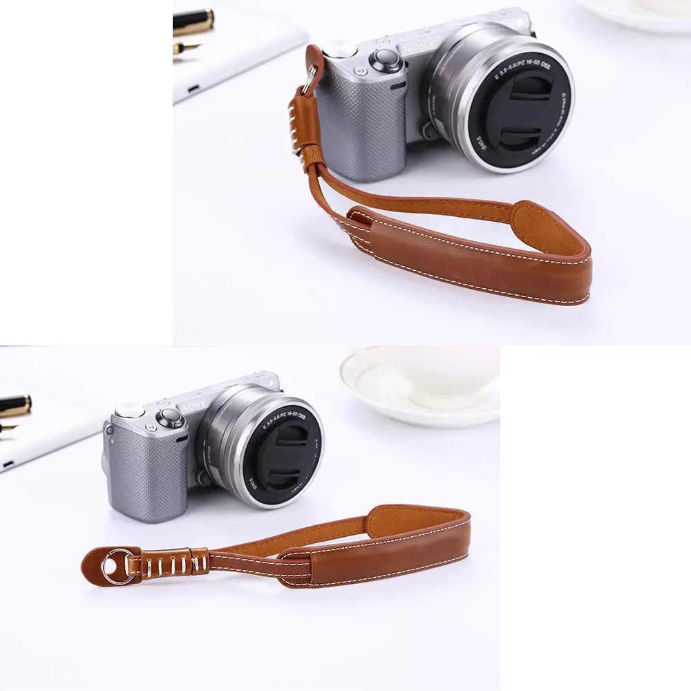 Amazingdeal365 Leather Camera Wrist Hand Strap Grip For Finepix Fuji Fujifilm X30 X 20 X10