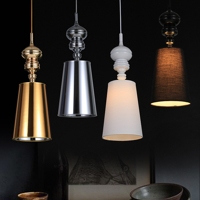 Us 39 0 American Retro Pendant Lights Personality Dining Room Bedroom Lamp Led Nordic Bar Coffee Ship Lighting Fixtures In