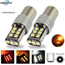 1 PCS 1156 BA15S P21W 15 SMD 2835 Canbus LED Auto Car Bulbs Indicator Turn Lights Parking Light DC 12V DRL