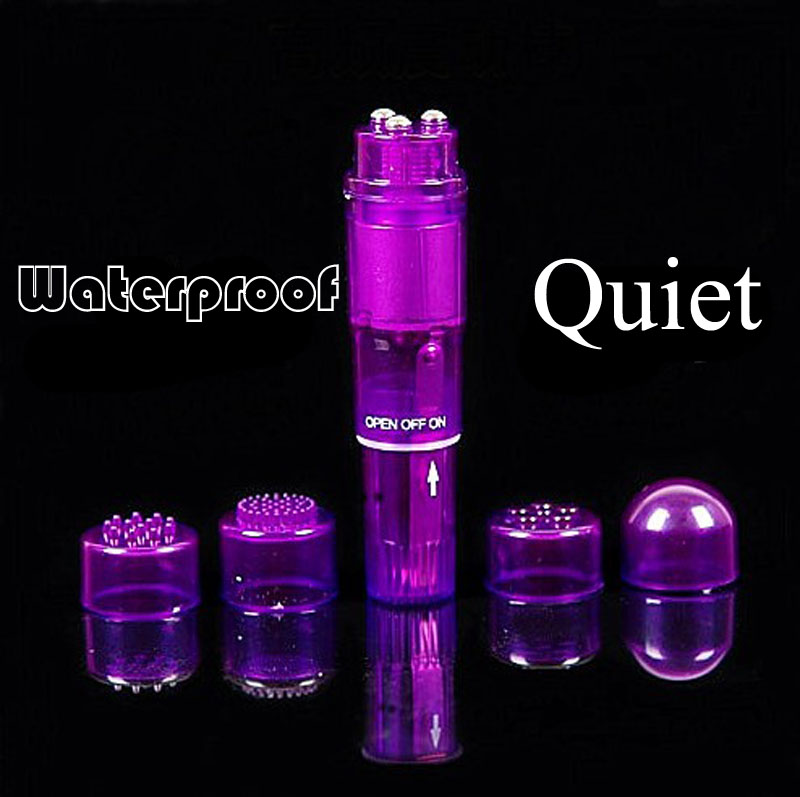 4 heads smart vibrator massager torch shape face body vagina massage vibe wand toy sex tools for sale