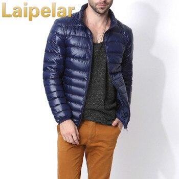 2018 New Design Autumn Winter Men Down Jacket Casual Coat Fashion Waterproof Lightweight Parka Laipelar