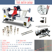 Lathe woodworking lathe Buddha beads machine multi – functional household small wooden bead round beads machine DIY Buddha lathe