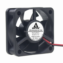 10Pcs/Lot Gdstime 5cm 50x50x20mm DC 24V 50mm 2Pin Mini Cooler Radiator Motor Cooling Fan