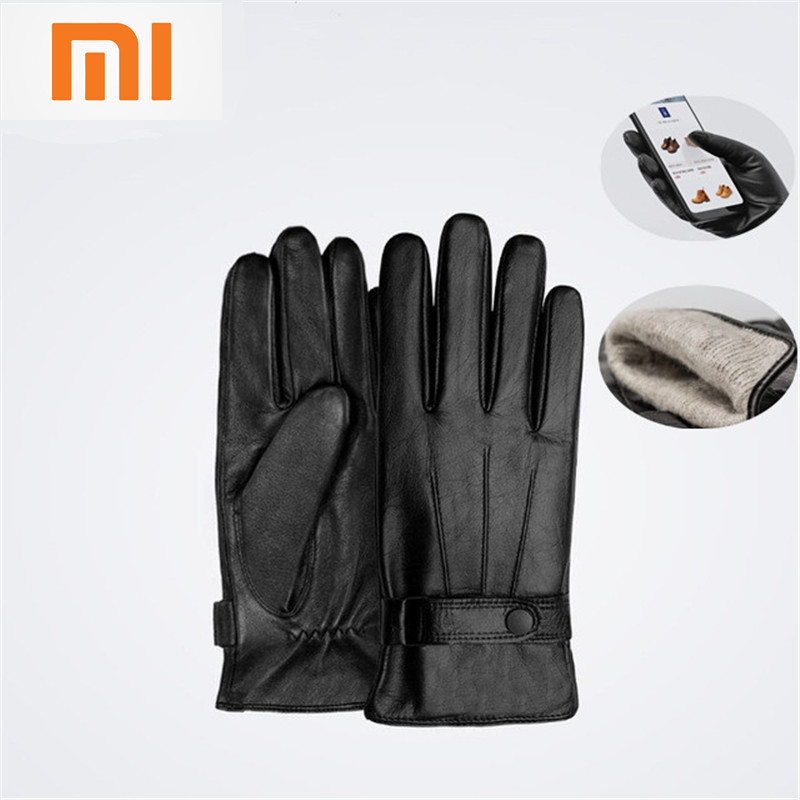 Original Xiaomi Finger Screen Touch Gloves Winter Warm Wool Gloves For iphone 6s Xiaomi Touch Screen Phone Tablet Cash Machine men wallet male cowhide genuine leather purse money clutch card holder coin short crazy horse photo fashion 2017 male wallets
