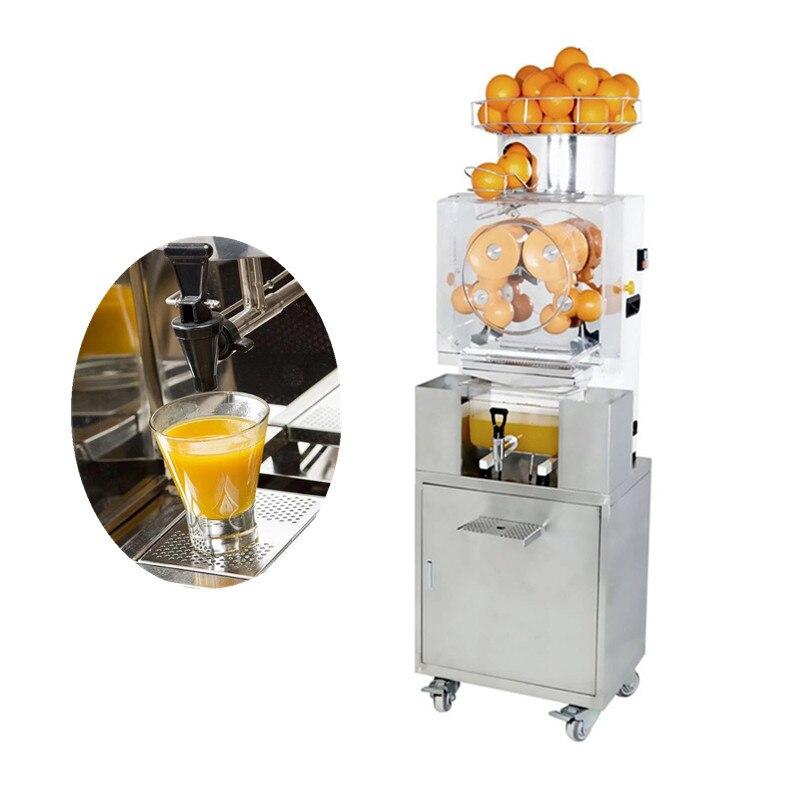 Stainless steel electric orange juicer cold press orange juice making machine for sale цена и фото