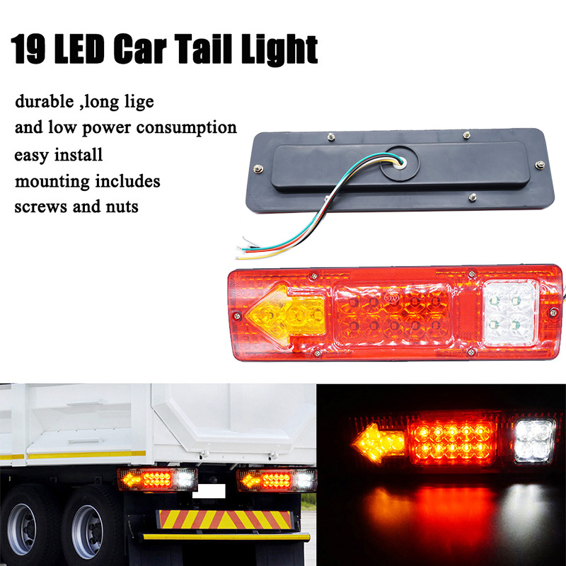 Atv,rv,boat & Other Vehicle Truck Parts Nice Side Marker Light Lamp 1 Pair Dc 24v 6 Led Bus Van Truck Lorry Trailer Indicator 828 Promotion
