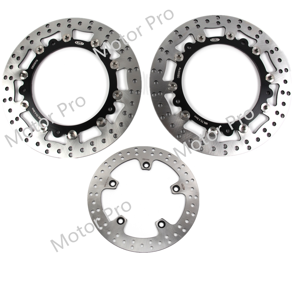 For Bmw R1200GS 2004 - 2014 Front Rear Brake Disc Disk Rotor Kit Motorcycle R 1200 GS R1200 1200GS 2005 2006 2007 2008 2009 2010For Bmw R1200GS 2004 - 2014 Front Rear Brake Disc Disk Rotor Kit Motorcycle R 1200 GS R1200 1200GS 2005 2006 2007 2008 2009 2010
