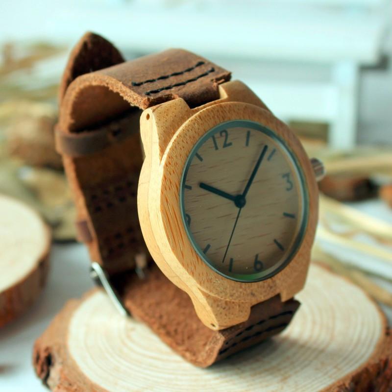 37mm BOBO BIRD Top Luxury Brand Watches Women Bamboo Watches (1)