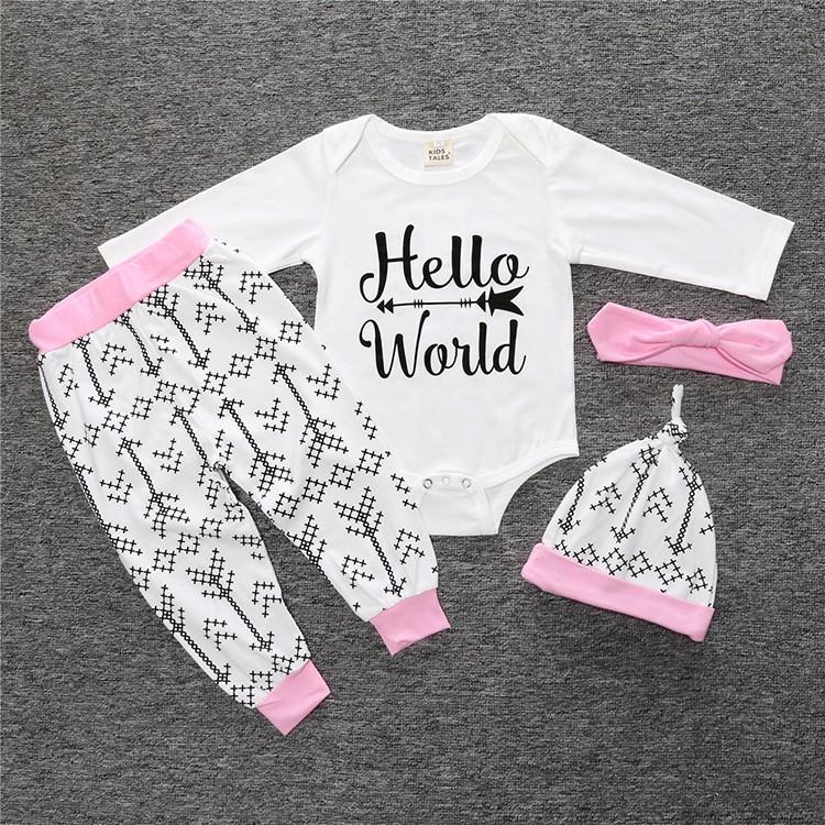 Unisex Baby Clothing Set