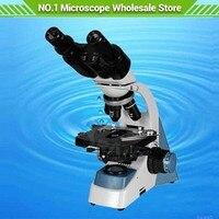 40X 1000X 3D этап бинокулярный Биологический микроскоп галогенная лампа Профессиональная Лаборатория доктор студент клиника микроскоп