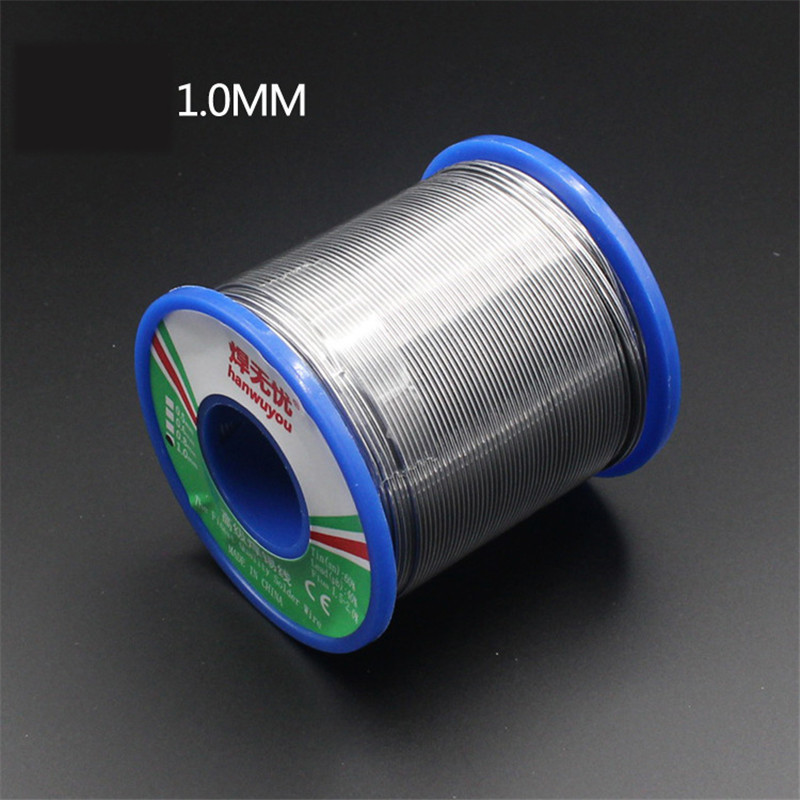 60/40 Solder Wire Rosin Core Tin Lead Solder Wire Soldering Welding Flux 1.5-2.0% Iron Wire Reel 50g1.0mm