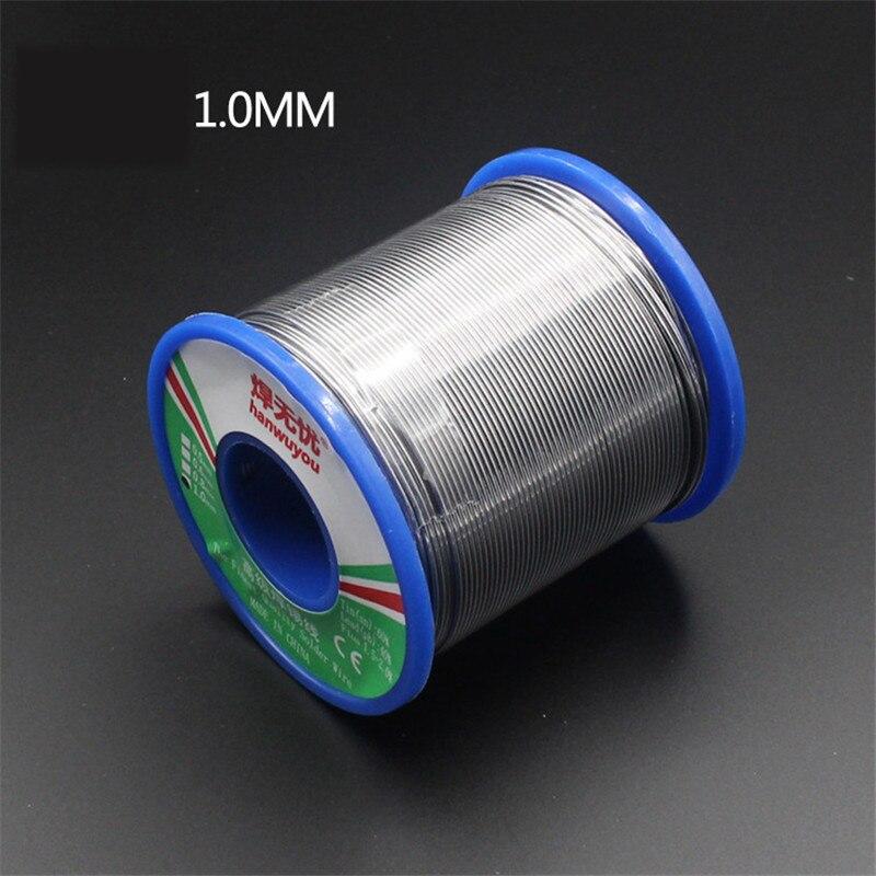 Fluxo de solda de solda 60/40-1.5 carretel de fio 50g1.0mm do ferro do fio da solda da ligação da lata do núcleo da resina do fio da solda 2.0%
