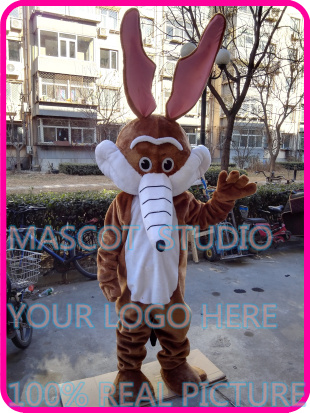mascot wolf mascot Coyote werewolf costume custom cartoon character cosplay fancy dress mascotte theme