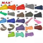 100FT(32m) Paracord 550 Paracord Parachute Cord Lanyard Rope Mil Spec Type III 7Strand For Climbing Camping Buckles Bracelet