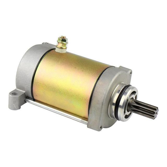 LumiParty Motor de arranque para CF500 LongWB (es) CFMoto 500cc CF188 Motor de arranque 9 Spline dientes CF Moto pieza auténtica ATV UTV r28