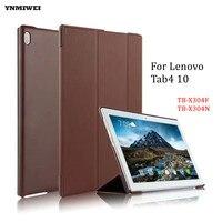 YNMIWEI Flip Case For Lenovo Tab4 10 Luxury Anti Shock Smart Cover For Lenovo Tab 4