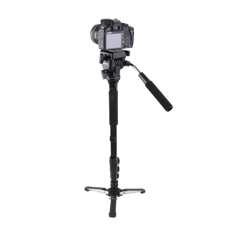 Yunteng 288 tripod+Unipod Holder,Professional Tripod Monpod Photography Tripod Head for Canon Eos Nikon DSLR,VCT-288 snow tripod