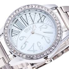 brand women watches fashion men's watch silver Love