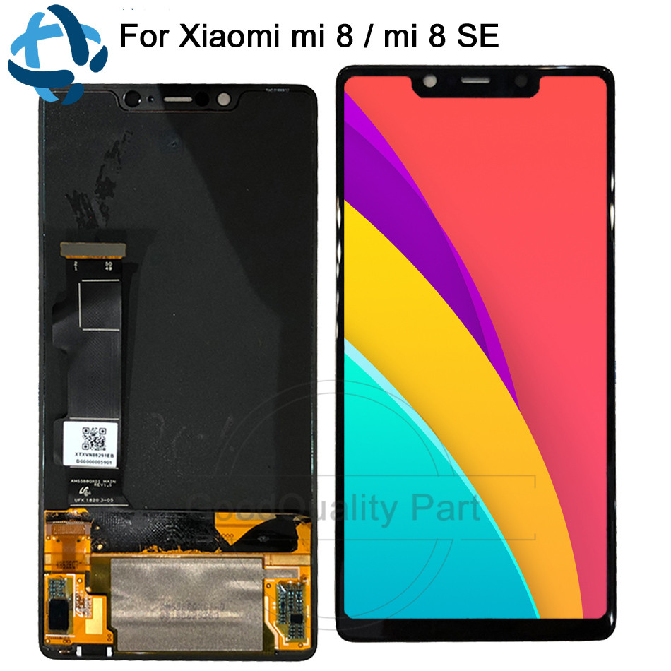 Amoled 5.88For Xiaomi Mi8 SE Mi 8 SE MI8SE LCD Display Touch Screen with Frame Digitizer Assembly xiaomi 8 SE Replacement lcdAmoled 5.88For Xiaomi Mi8 SE Mi 8 SE MI8SE LCD Display Touch Screen with Frame Digitizer Assembly xiaomi 8 SE Replacement lcd