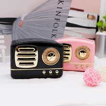 Newest Style Mobile Phone Bluetooth Speaker Innovative Radio Retro Portable Mini Wireless Loudspeaker Speakers