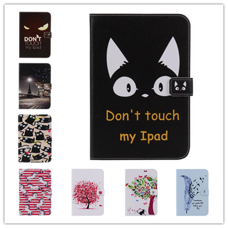 Fashion Painted Flip PU Leather For Samsung Galaxy Tab 4 10.1 Case For Samsung Galaxy Tab 4 T530 T531 T535 Smart Case Cover butterfly flip pu leather for samsung galaxy tab 4 10 1 t530 case for samsung galaxy tab 4 t530 t531 t535 smart case cover