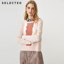 選択新しい女性のウールニットセーター   S 418413503