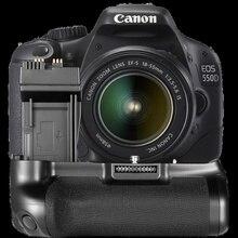 Вертикальный Батарея сцепление BG-E8 для Canon 550D 600D 650D 700D T5i T4i T3i T2i как MK-550D
