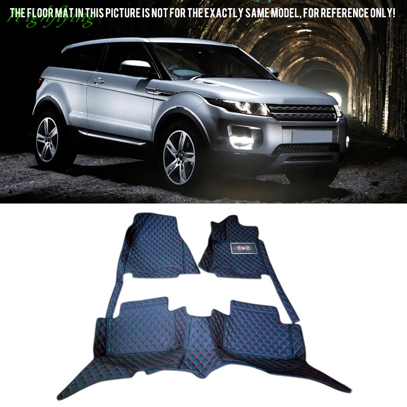 Floor Mats & Carpets Foot Pad Covers For Land Rover Range Rover Evoque 3Dr 5Dr 2011-2016