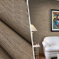 Flachs Stroh Natürliche Anlage Tapete Rollen für Wände Wohnzimmer Hintergrund 3d Streifen Wand papier Natürliche Tapeten-in Tapeten aus Heimwerkerbedarf bei