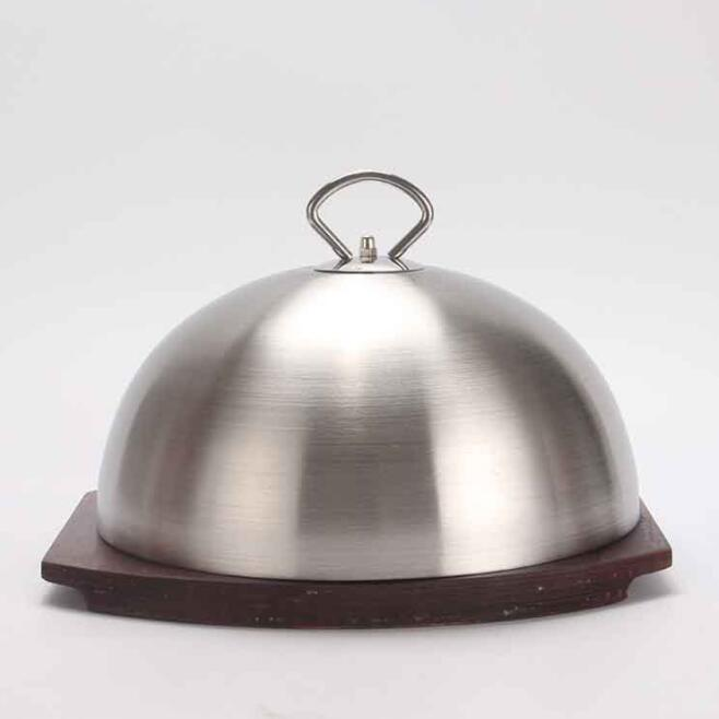 304 Stainless steel steak cover oil-proof dish round food covers meal food spherical covers304 Stainless steel steak cover oil-proof dish round food covers meal food spherical covers