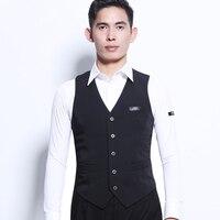 High Quality Latin Dance Vest Men'S Latin Men'S Dance Ballroom Tops Performance Clothing Adult Practice Clothes Shirt DL3399