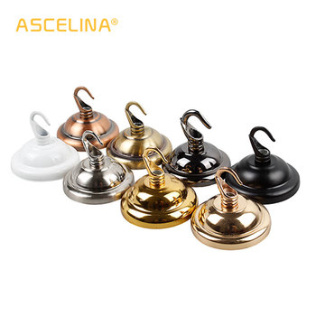 ceiling cover plate hook pendant lamp decoration metal accessories chandelier Parts Vintage Ceiling Holder For Light Fitting image