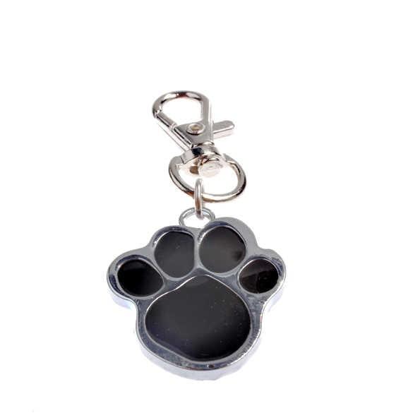 สัตว์เลี้ยงรอยเท้าจี้สแตนเลสแมวสุนัขลูกสุนัข Choker สร้อยคออุปกรณ์เสริม Store