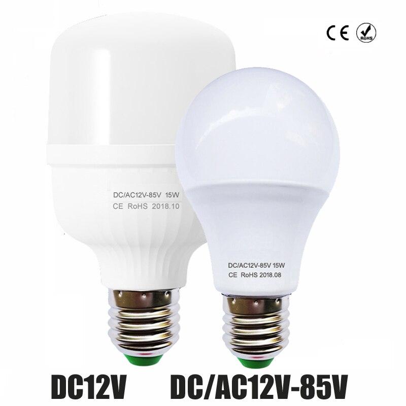 36V 24V 3W DC Lighting LED Cold YOYOLUO Bulb E27 Bulb 6W 85V 0 12W Watt AC 60OFF 2835 12V White Light Home Warm LED 9W US1 12 in LED Lamp SMD LED HIWD9eYbE2