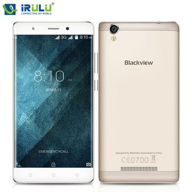 Original blackview a8 5 pulgadas hd mtk6580a smartphone android 5.1 quad core 1.3 ghz 1g/8g 8.0mp 2000 mah 1280*720 ips teléfono móvil
