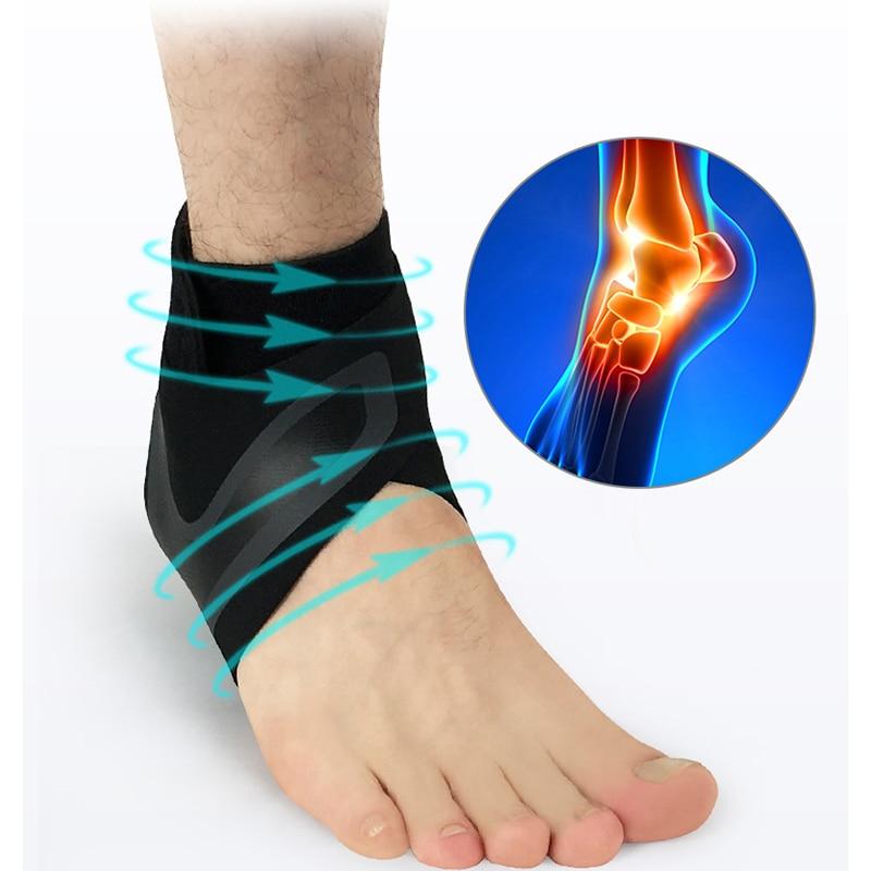 Kyncilor Ankle Support Elastic Breathable Sport Ankle Brace tobillera Fitness Adjustable Compression Ankle Protectors Football|Ankle Support| |  - title=