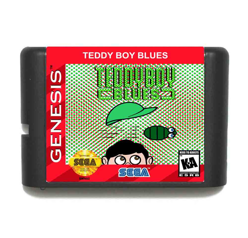 Teddy Boy Blues 16 bit MD Game Card For Sega Mega Drive For Genesis