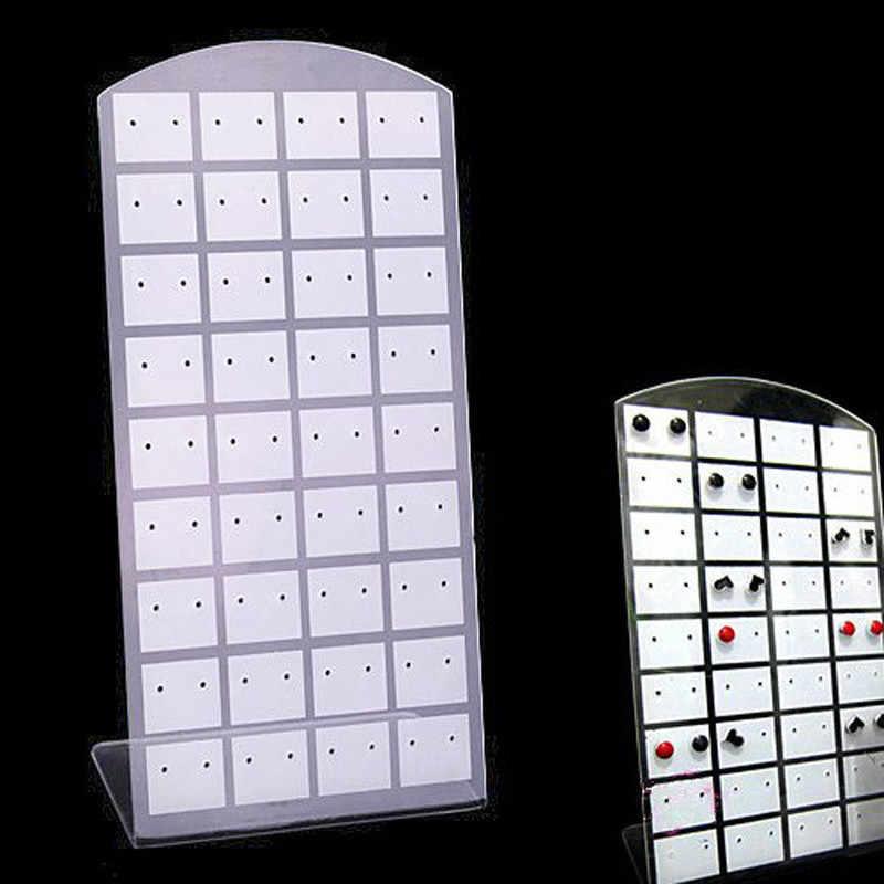 Заводская распродажа пластик стенд-витрина для серег или удобный держатель ювелирных изделий показать случае инструмент стойки Организатор