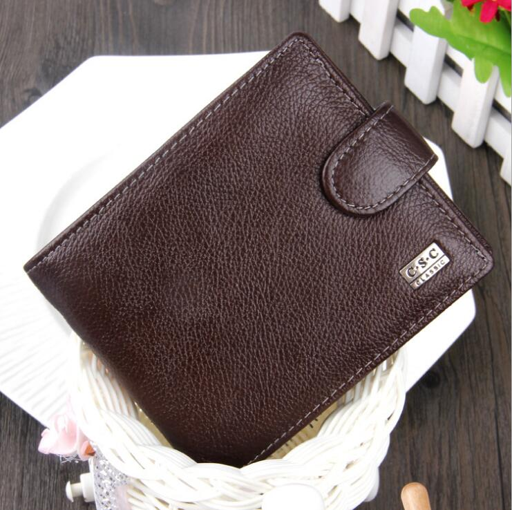 Luxury Men Wallets Genuine Leather Wallet Business Leisure Money Clip New Classic  Famous Brand Luxury Male Purse Clutch Mens аксессуар чехол накладка asus zenfone c zc451cg skinbox 4people black t s azc 002 защитная пленка