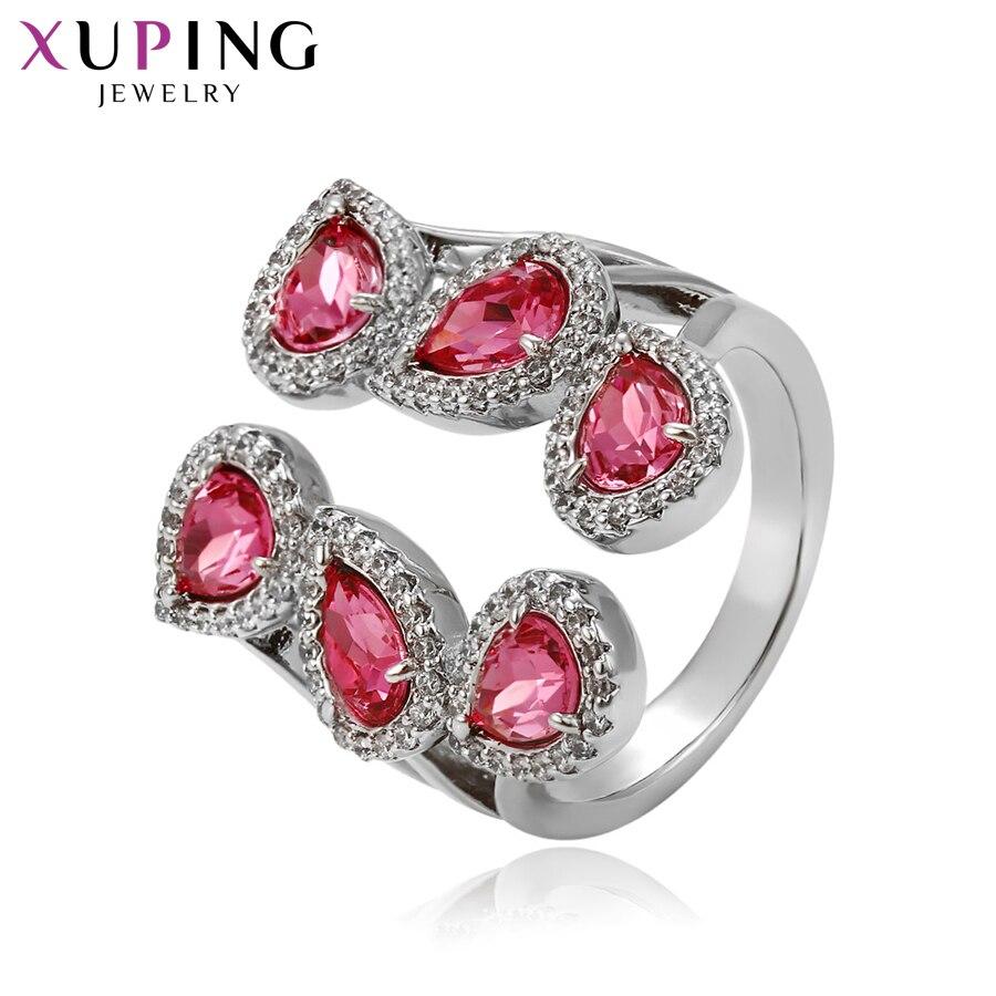 Xuping bijoux anneau classique Style sauvage cristaux romantiques de Swarovski luxe pour les femmes Halloween cadeau S142.5-14274