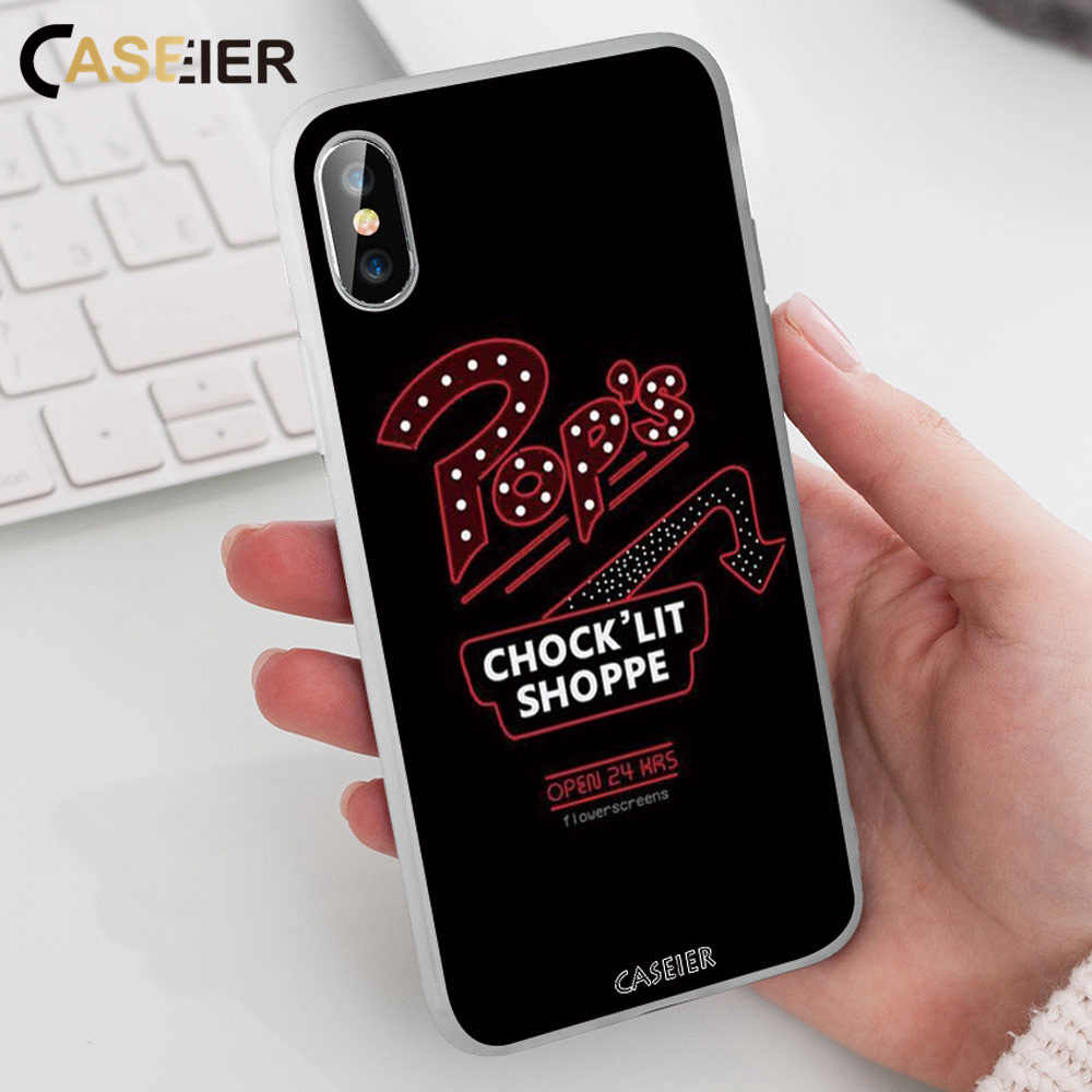 CASEIER Phone Case For Samsung Galaxy  A7 2018 A5 A6 S8 S9 S10 Plus Riverdale Cases For Samsung J3 J5 A9 J7 2017 Note 8 9 Covers