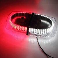 Rood/Wit Voertuig Auto Vrachtwagen Emergency Alarmlichten 240 LED Mini Bar Strobe Flash Voor Vw passat b5 golf toyota Audi opel