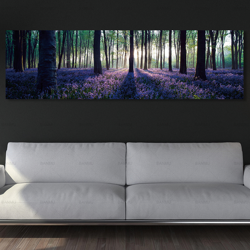 wall art canvas painting Picture Forest wall picture art print canvas posters picture art Painting landscape art home decor