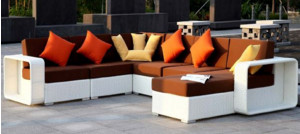 US $807.5 5% OFF|Hot Sale patio outdoor furniture white sofa sets modern  modular sofa-in Garden Sofas from Furniture on Aliexpress.com | Alibaba  Group