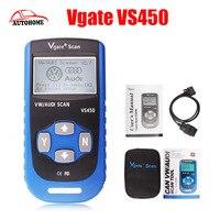 2 TEIL/LOS Freies Verschiffen Vgate VS450 Für VAG OBDII OBD 2 Code Reader Auto-diagnosewerkzeug VS 450 Reset Airbag ABS CAN Scanner