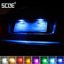 Для peugeot Bipper Van Boxer 2 SCOE Новинка Высокое качество 2X3SMD 5050LED светильник номерного знака Лампа Источник автомобиля стиль